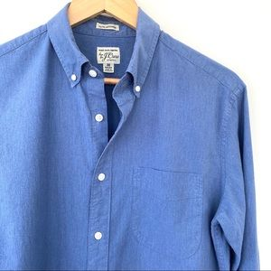 J. Crew cotton button down shirt